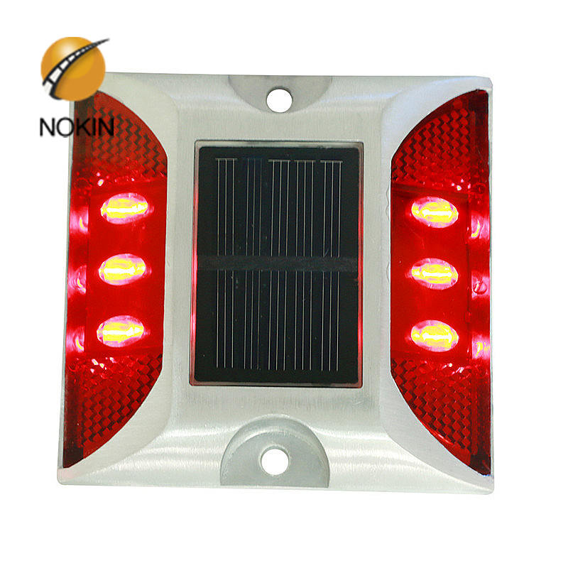 6 LED Embedded Solar Road Marker Light Supplier In